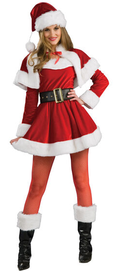 Womens Sexy Santas Helper Costume
