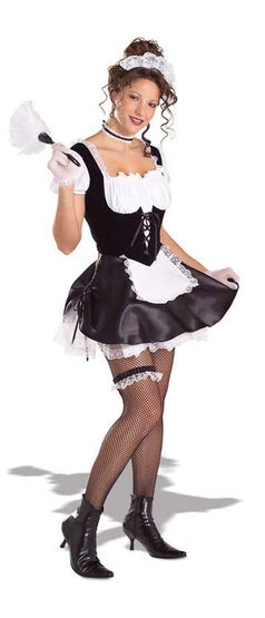 Naughty French Maid Sexy Costume