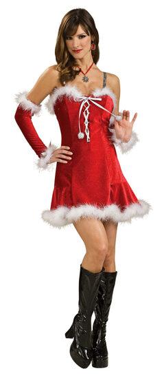 Sexy Santas Baby Costume