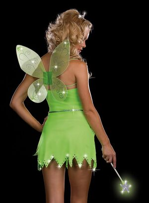 Bright Sprite Sexy Green Fairy Costume