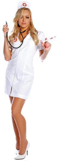 Hot Flash Sexy Nurse Costume