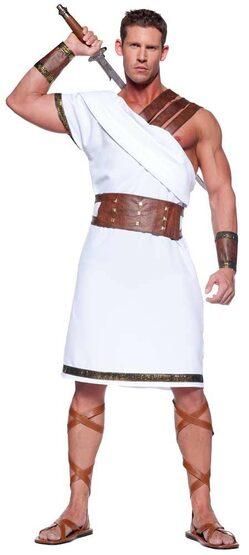 Mens Ancient Greek Warrior Costume