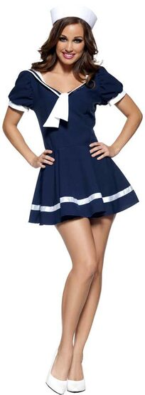 Womens Sassy Sailor Girl Costume