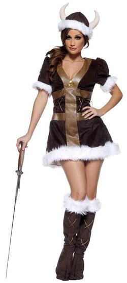 Womens Sexy Viking Princess