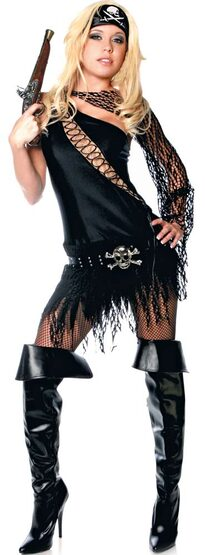 Womens Forbidden Sexy Pirate Costume