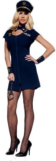 Police Officer Tasha Sexy Cop Costume