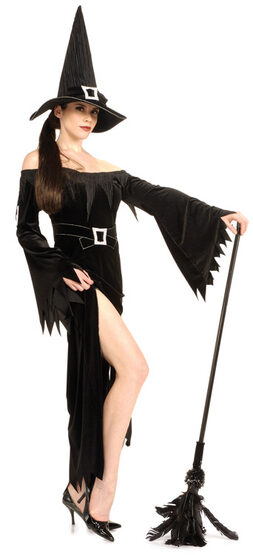 Womens Sexy Wicked Witch Costume