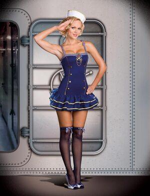 Makin a Splash Sexy Sailor Costume