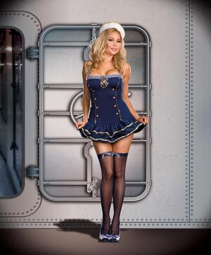 Makin a Splash Sexy Plus Size Sailor Costume