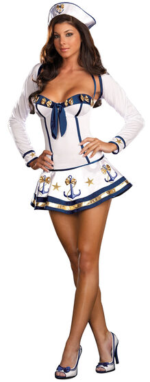 Making Waves Sexy Sailor Costume