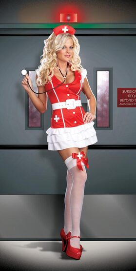 Vital Signs Sexy Nurse Costume