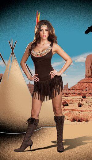 Pocahottie Sexy Indian Costume