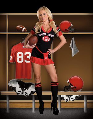 Womens Touch Down Sexy Football Costume