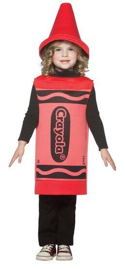 Toddler Red Crayola Crayon Costume