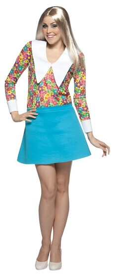 Marcia Brady Adult 70s Costume