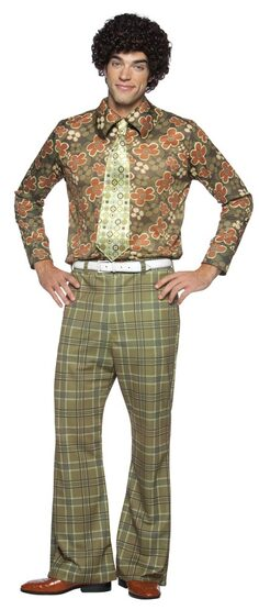 Mike Brady Adult 70s Costume