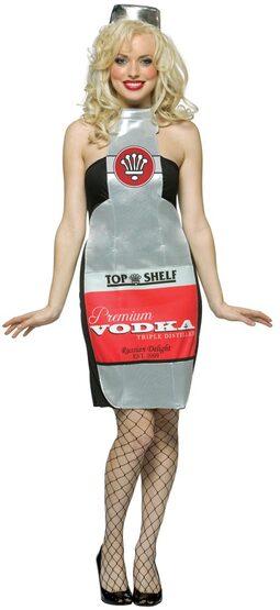 Top Shelf Vodka Sexy Costume