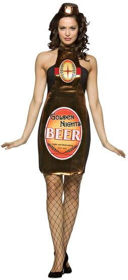 Golden Nights Sexy Beer Girl Costume