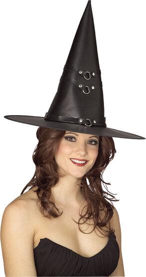 Adult Vinyl Witch Hat