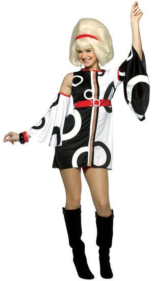 Sexy Miss Mod 60s Costume