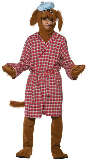 Mens Funny Sick as a Dog Costume
