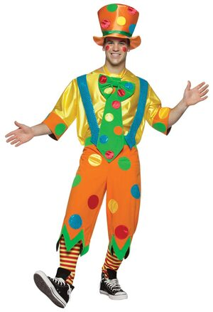 Mens Toots the Clown Costume