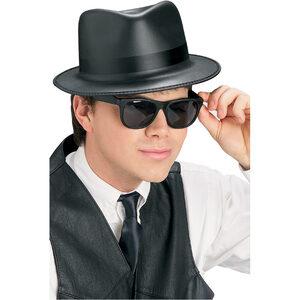 Singin' The Blues Gangster Hat - Set