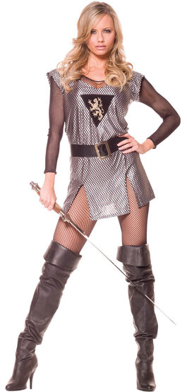 Lady Knight Adult Medieval Costume
