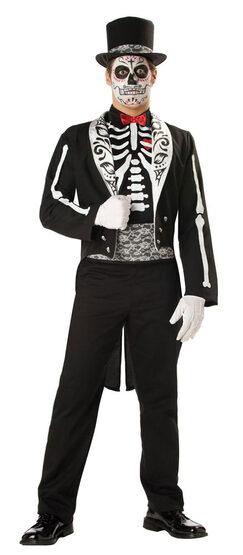 Elite Mens Graveyard Groom Adult Costume