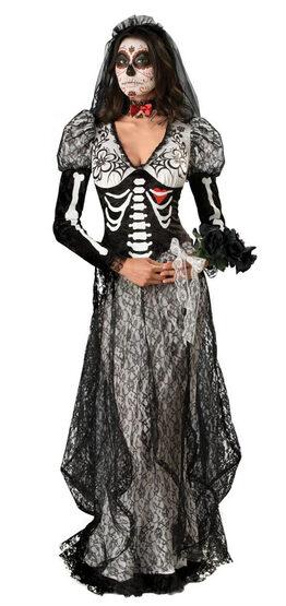 Elite Womens Boneyard Bride Adult Costume