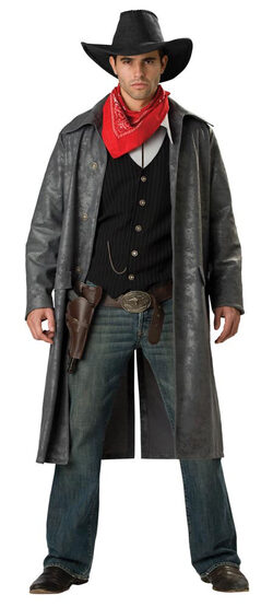 Elite Adult Outlaw Cowboy Costume