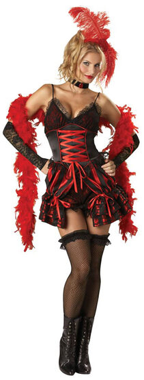 Dance Hall Darling Sexy Saloon Girl Costume
