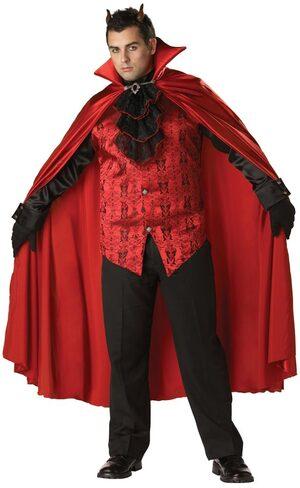 Mens Plus Size Handsome Devil Costume