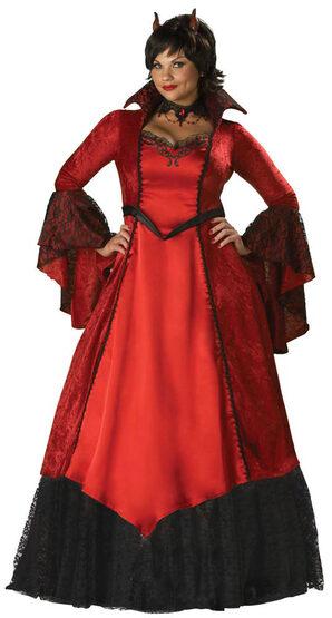 Plus Size Devils Temptress Costume