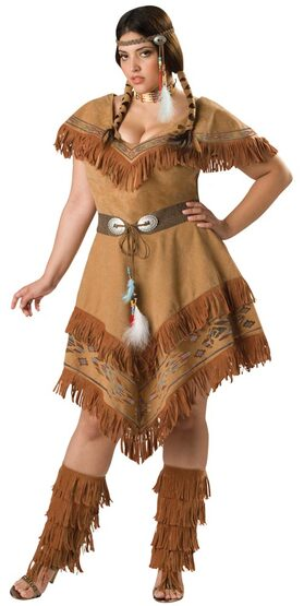 Plus Size Indian Girl Costume