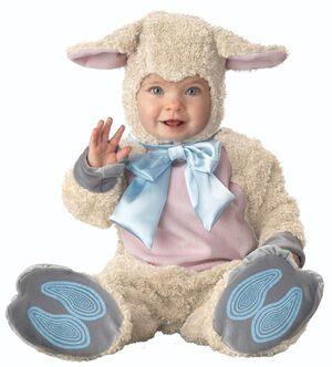 Lil Lamb Baby Costume