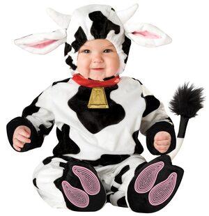 Toddler Mini Moo Baby Cow Costume