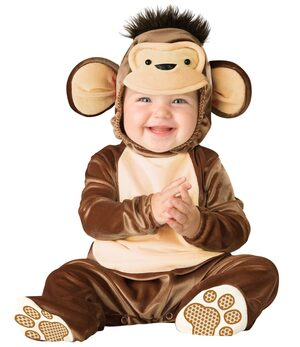 Mischievous Monkey Baby Toddler Costume