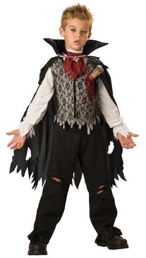 Boys Vampire B Slayed Kids Costume