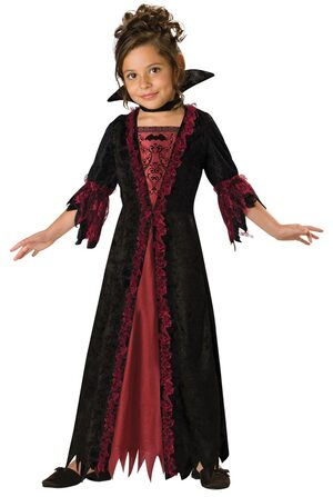 Girls Vampire Kids Costume