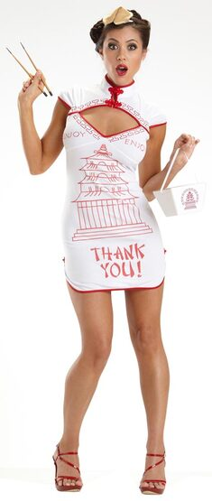 Chinese Food Takeout Sexy Costume