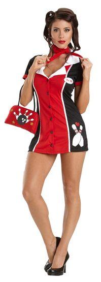 Pin Me Sexy Bowling Costume