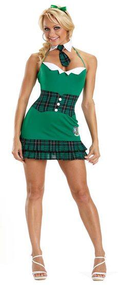 Preppy Sexy School Girl Costume