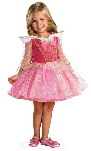 Sleeping Beauty Aurora Toddler Ballerina Costume