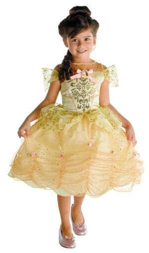 Kids Disney Classic Toddler Belle Costume