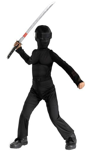 Kids Classic Snake Eyes GI Joe Costume