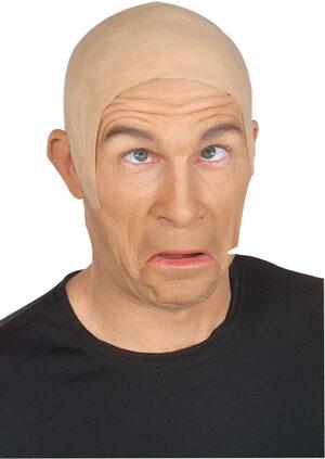 Latex Flesh Skin Head