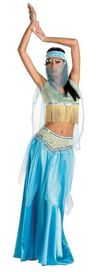 Womens Sexy Desert Belly Dancer Costume