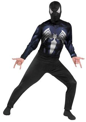 Classic Adult Black Spiderman Costume