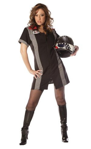 Sexy Race Girl Costume